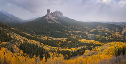aspentrees autumn fallcolors landscape colorado cimarron unitedstates us