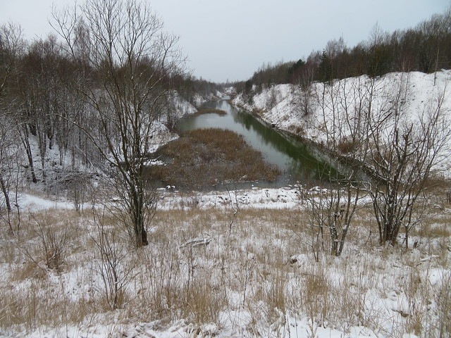Fosforiidimaa / Phosphate Rock mining area in Estonia