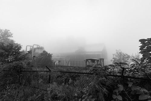weirton westvirginia unitedstates us rustbelt blackandwhite steelmill