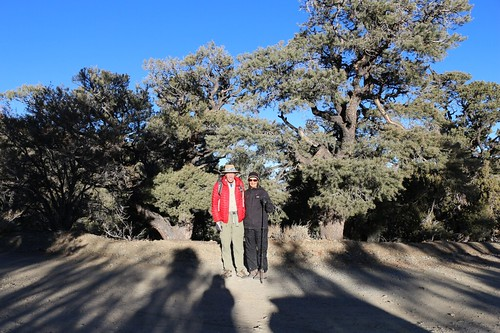 0739 Vicki and I pose for a photo as we get ready to start hiking on the Telescope Peak Trail   by _JFR_
