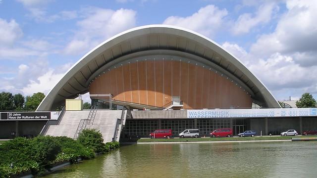 1956/57 Berlin-W. Schwangere Auster genannte Interbau-Kongreßhalle von Hugh Stubbins John-Foster-Dulles-Allee 10 in 10557 Tiergarten
