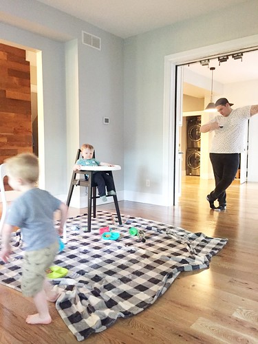 Behind The Scenes Hardwood Floor Installation | by emily @ go haus go