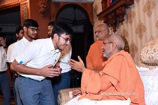 Std-10-11-12-visit-to-Haridham-for-Swamishree's-Blessings-(53) | by Atmiya Vidya Mandir