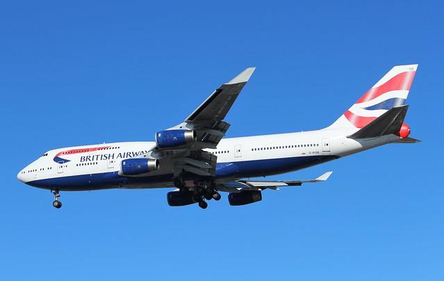 G-BYGB Boeing 747-436 British Airways