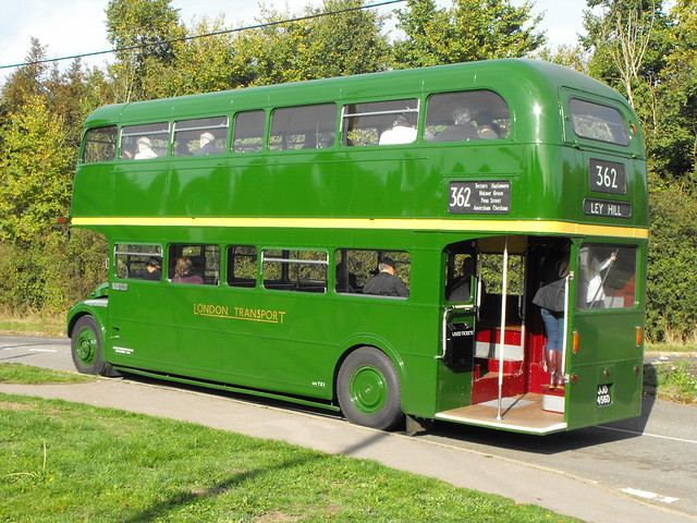 RML 2456, JJD 456D, AEC Routemaster @ Ley Hill 2018 (4)