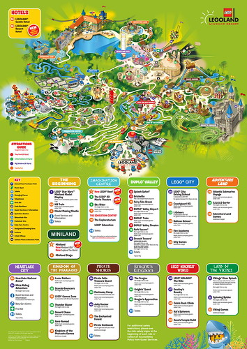 Legoland Windsor 2018 Park Map | by ThemeParkMedia