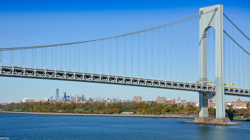 ny nyc newyork sea verrazzanonarrows wt worldtradecenter bridge newyorkcity vereinigtestaaten us nikon d7100 usa