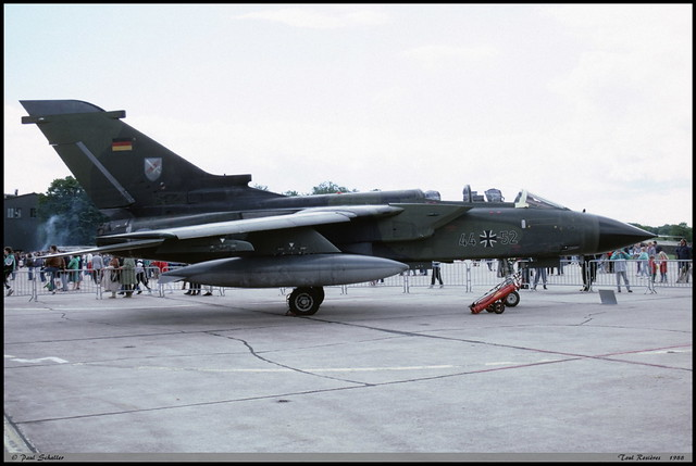 TORNADO IDS 44+52 GS109 JBG31 Toul Rosières juin 1988