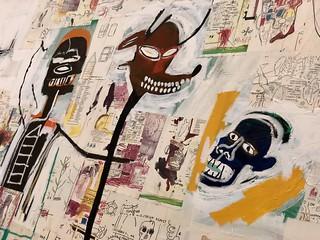 Extrait de Peter and the Wolf, 1985, Jean-Michel Basquiat