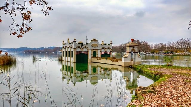 Lago de Banyoles. Gerona (Cataluña)