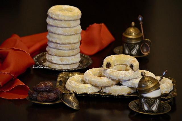 Date Shortbread Cookies