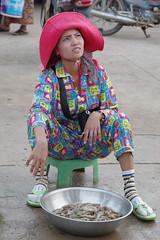 CAMB0317 Kampot fish market