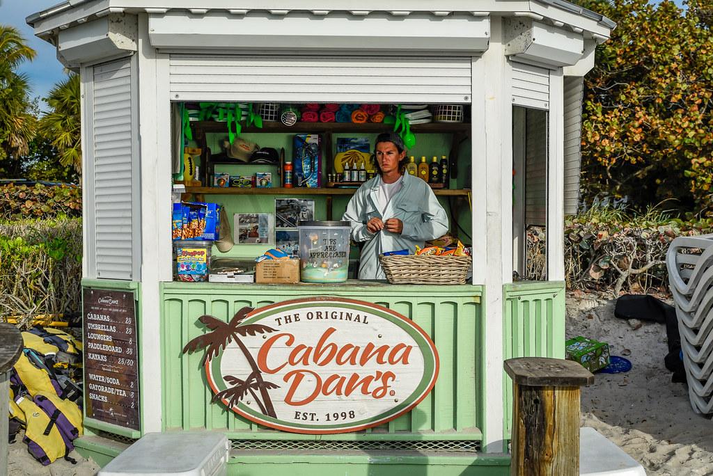 Naples, Florida - Cabana Dan's