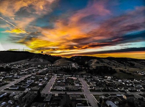 colorfulskies sunset skyscape altostratus mixedskies droneshot dronephotography aerialphotography