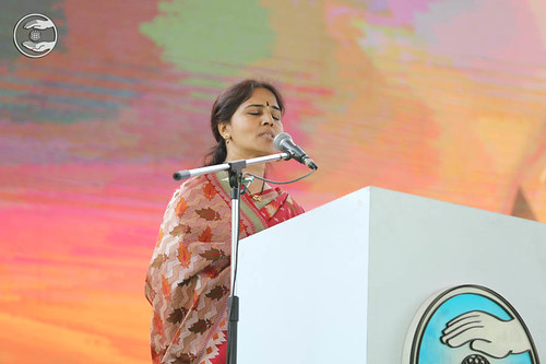 Telugu speech by Vijaya Laxmi, Hyderabad, TS