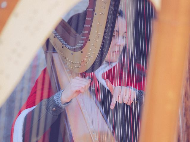 Christmas harp #500px