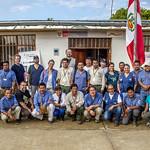 Soplín Vargas es una localidad ubicada en el distrito de Teniente Manuel Clavero, provincia de Putumayo, departamento de Loreto, Perú.  La Amazonía entera es vital para la humanidad, sin embargo su gestión resulta compleja debido a la gran extensión del territorio que representa y a la multiplicidad de actores y países que la comparten.   Por esta razón, el proyecto Integración de las Áreas Protegidas del Bioma Amazónico - IAPA priorizó 2 paisajes del bioma que tienen mayores oportunidades de conservación. El paisaje norte se encuentra en la frontera entre Colombia, Perú y Ecuador. El proyecto propicia el intercambio de experiencias y la formación del personal técnico de estas áreas fronterizas.    Más información www.portalces.org/iapa