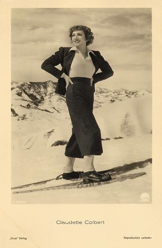 Claudette Colbert in I Met Him in Paris (1937)