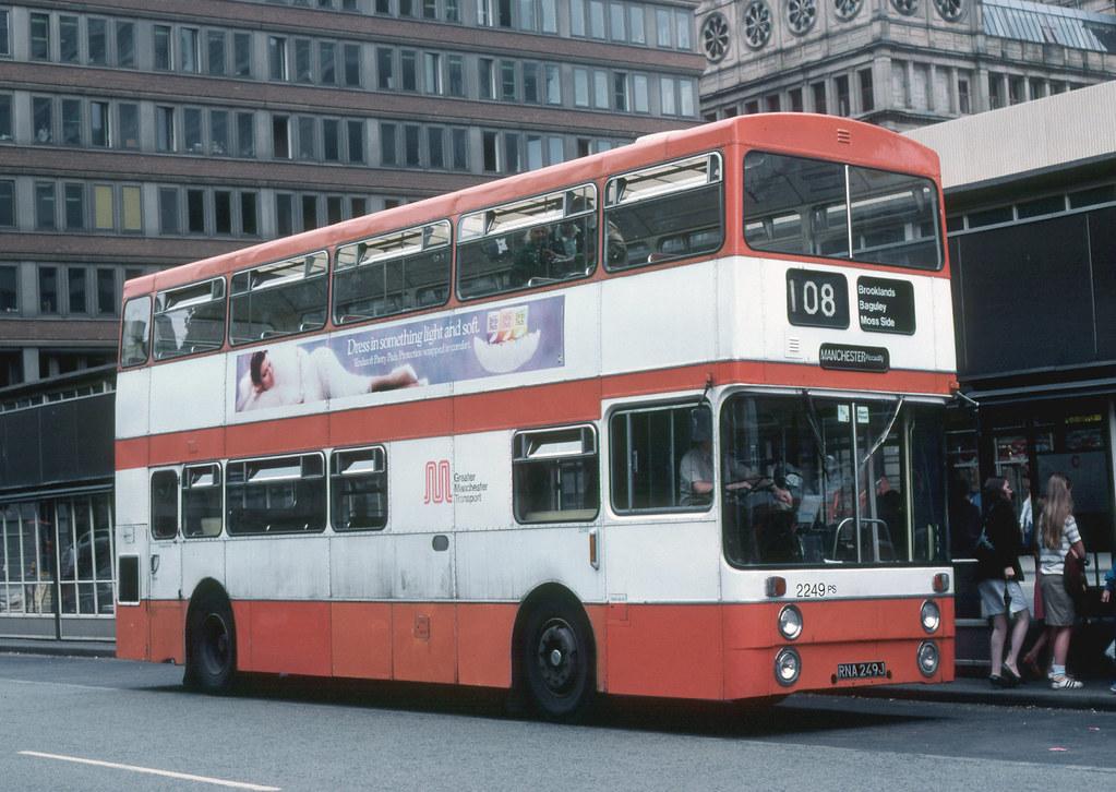 Greater Manchester Transport PTE Park Royal Daimler Fleetl