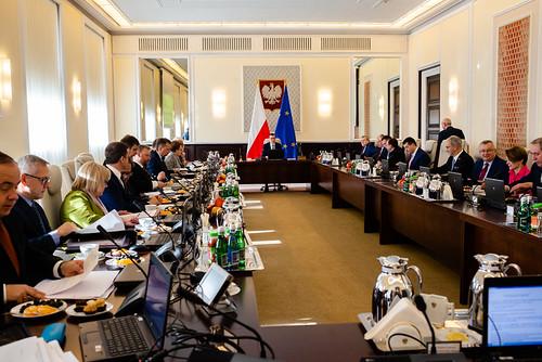 Posiedzenie Rady Ministrów | by Kancelaria Premiera