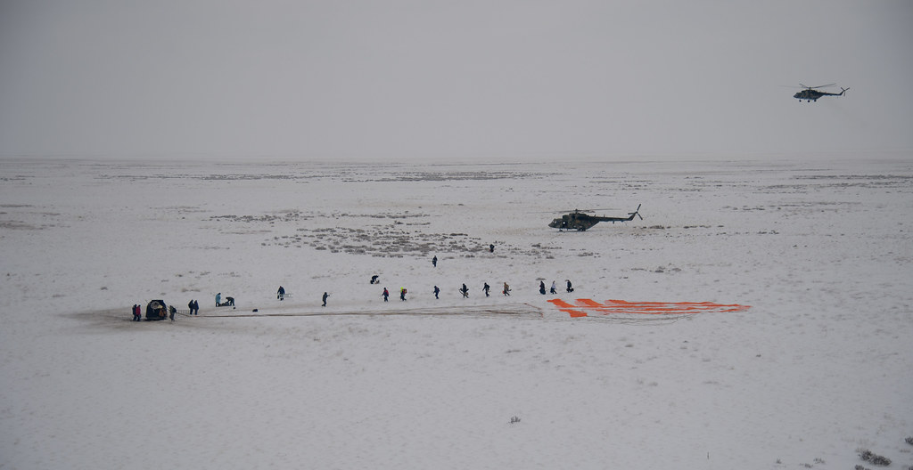 Expedition 57 Soyuz MS-09 Landing (NHQ201812200013)