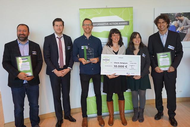 2018 Transformative Action Award Ceremony