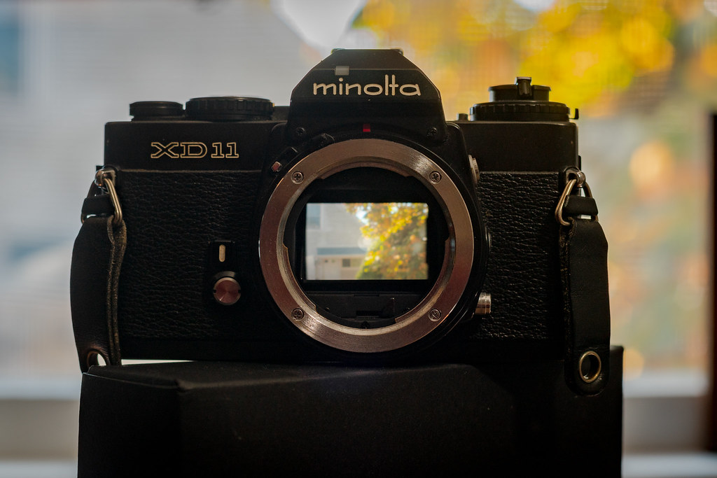 Minolta XD11 SLR