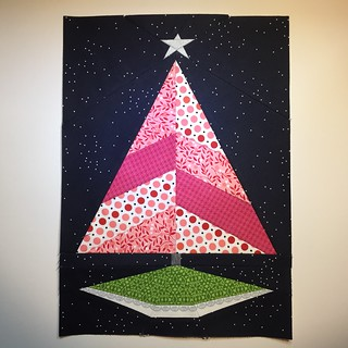 Christmas Tree paper piecing pattern by Amy www.duringquiettime.com