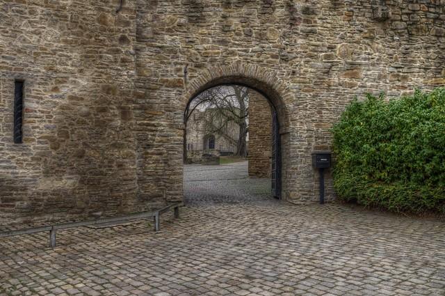 Eingang Schloss Broich Mülheim/Ruhr