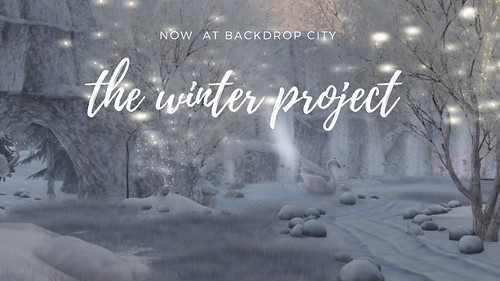 the winter project now open! | by BACKDROP CITY