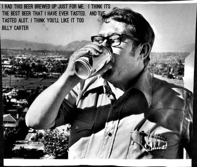 Billy Carter Beer 1978