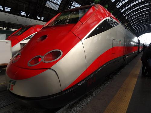Italien Bahn frecciarossa