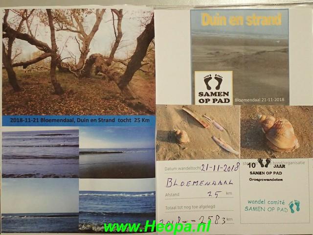 2018-11-21              Bloemendaal         25 km    (134)