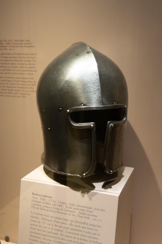 1460 Italian Barbute helmet | ROM Royal Ontario Museum, Toro… | Flickr