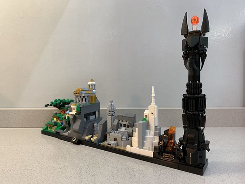 LEGO Lord Of The Rings - Skyline Architecture MOC | by MOMAtteo79