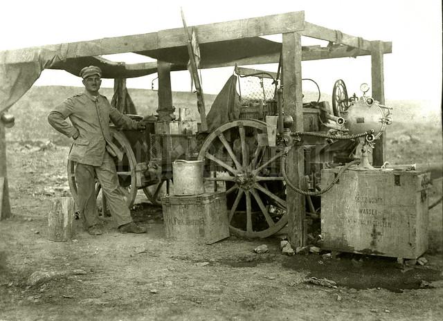 Küchenwagen / K-Flak Batterie 15 (Asien-Korps), Palästinafront
