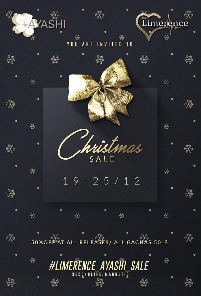 Limerence&[^.^Ayashi^.^] Christmas sale!