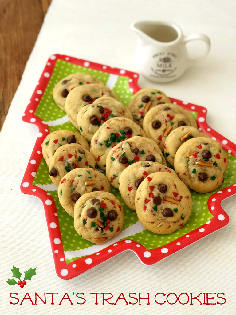 Santa's Trash Cookies