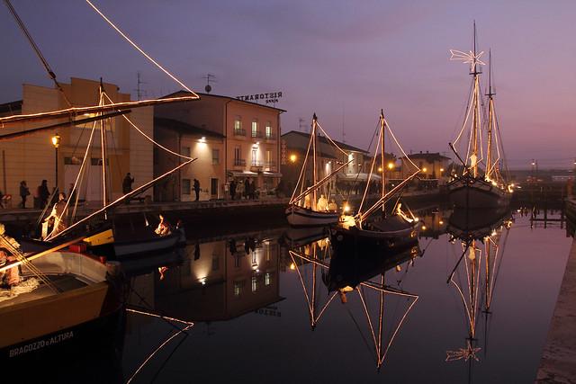 I presepi sulle barche - The cribs on the boats