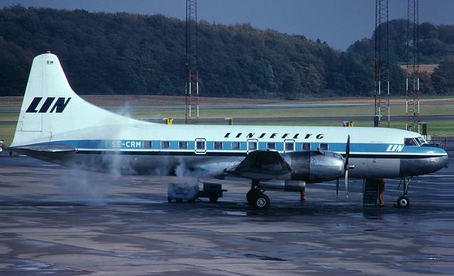 SE-CRM Convair 440 MMA Sturup 19770930 kjell nilsson