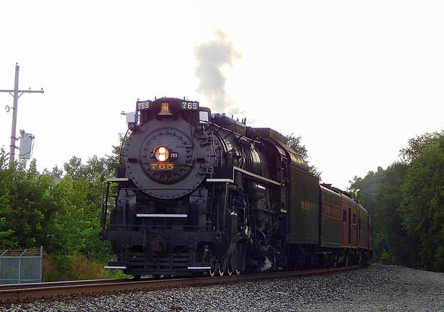 Nickel Plate 765 at Wabash Indiana