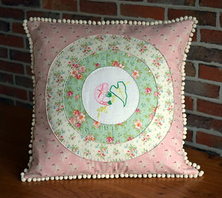 Triple Porthole Cushion | by Just Jude Designs