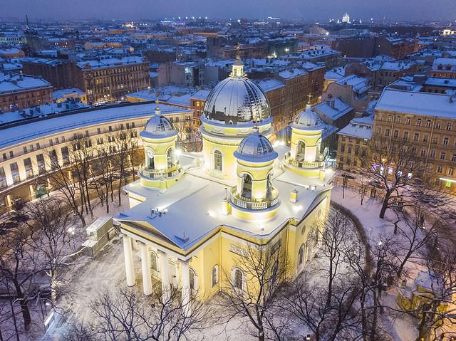 Transfiguration Cathedral (Saint Petersburg)/ Спасо-Преображенский Собор