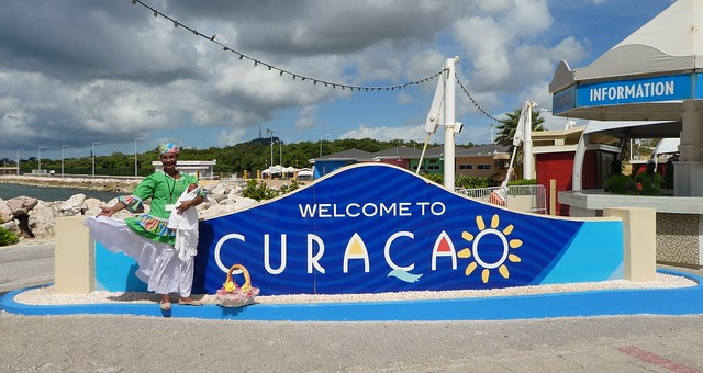 Curacao Welcome Sign