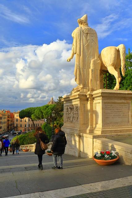 IMG_6217_1 - Roma. Leaving the Campidoglio.