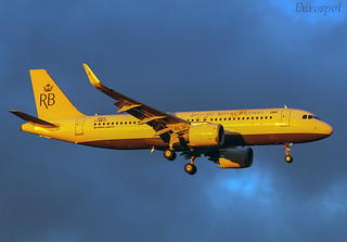 F-WWIP Airbus A320 Neo Royal Brunei | by @Eurospot