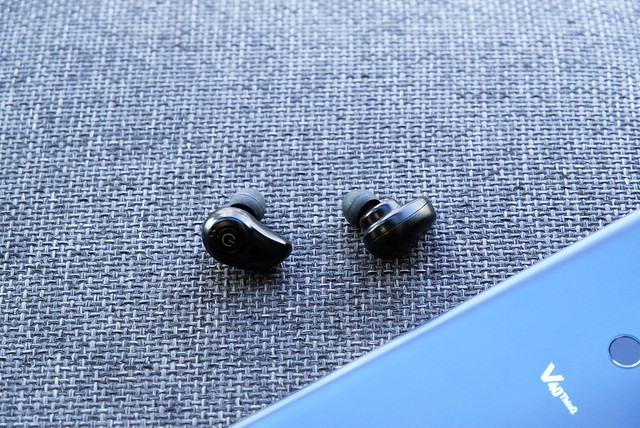 Gold Moebius Wireless Headsets