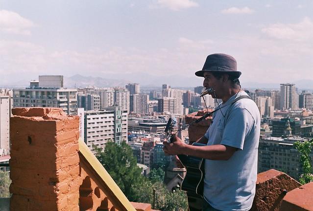 Cerro Santa Lucía, 2018.