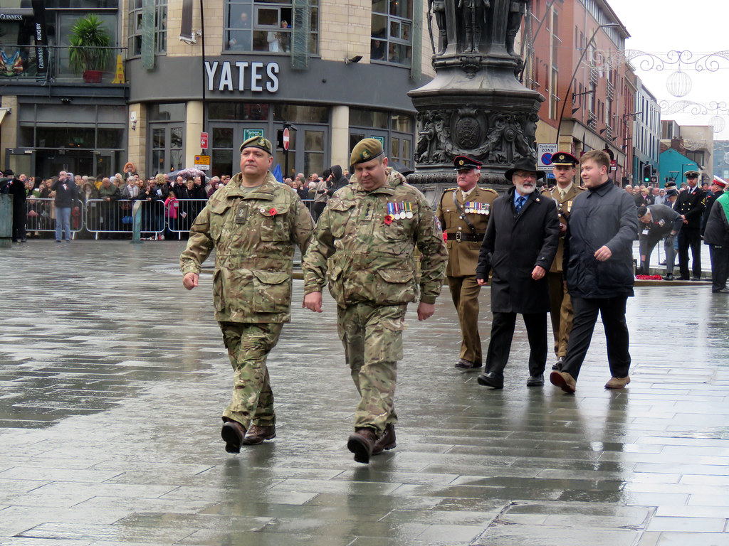 Remembrance Sunday Sheffield 2019