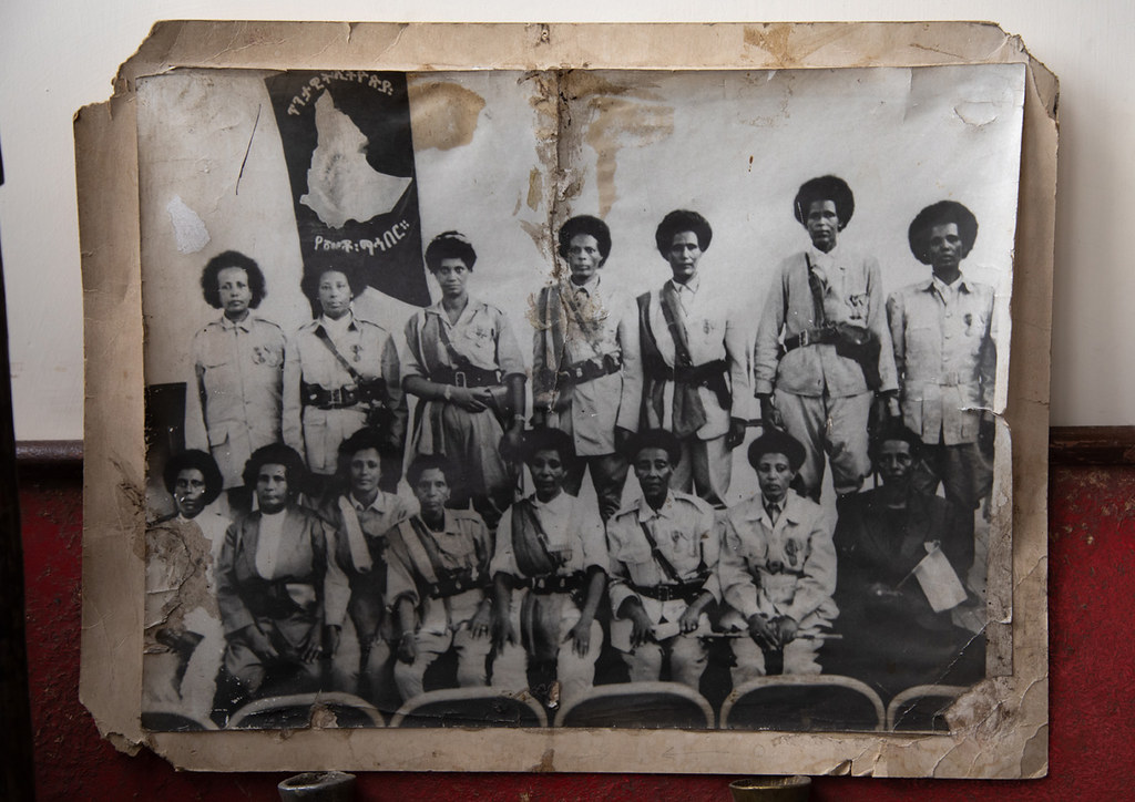 Old picture of patriots from the italo-ethiopian war, Addi… | Flickr